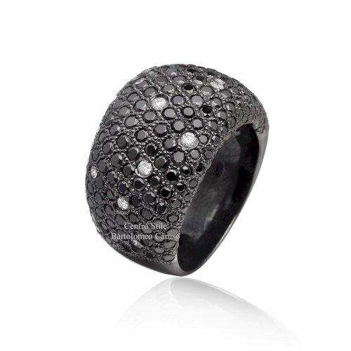 Notte Stellata - oro e diamanti neri
